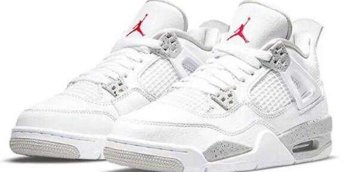 Where to Buy CT8527-100 Air Jordan 4 White Oreo
