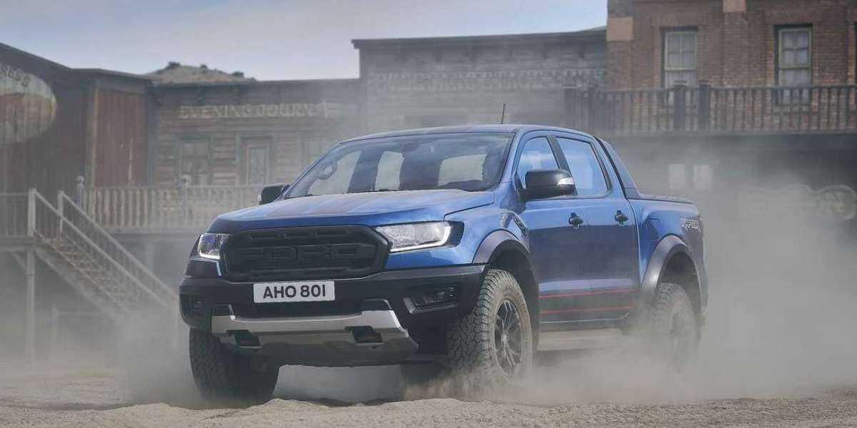 The new Ranger Raptor Special Edition pickup truck