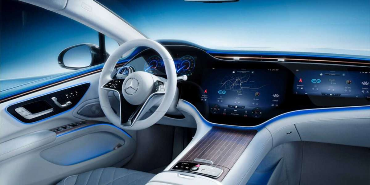 The Mercedes-Benz EQS is the first luxury saloon with a fully electric drive