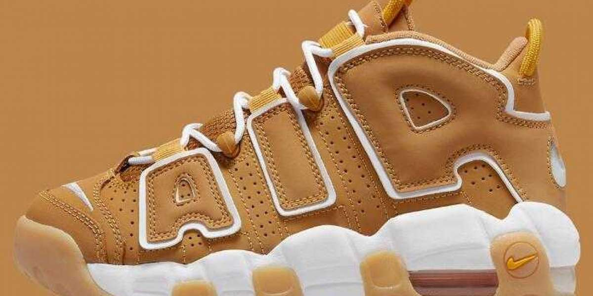 Kids Sizes Nike Air More Uptempo Wheat to Unveils this Weekend